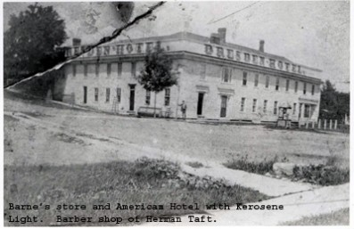 Barnes Store and American Hotel